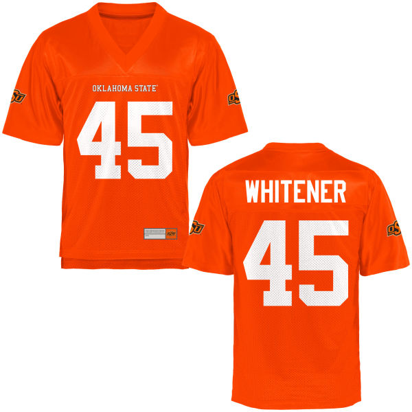 Youth Chad Whitener Oklahoma State Cowboys Authentic Orange Football Jersey