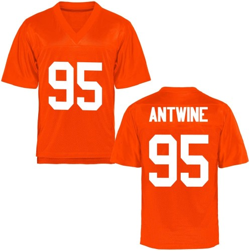 Men's Israel Antwine Oklahoma State Cowboys Replica Orange Football College Jersey