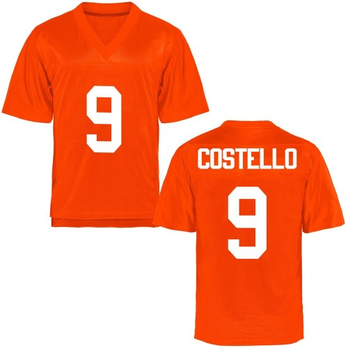 Youth Brendan Costello Oklahoma State Cowboys Game Orange Football College Jersey