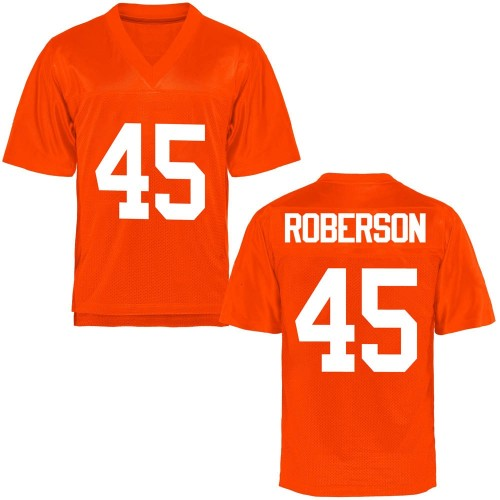 Youth Jeff Roberson Oklahoma State Cowboys Replica Orange Football College Jersey