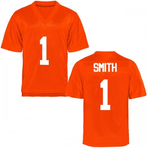 Youth Kendall Smith Oklahoma State Cowboys Replica Orange Football College Jersey