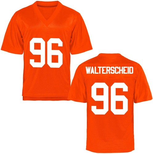Youth Kody Walterscheid Oklahoma State Cowboys Game Orange Football College Jersey