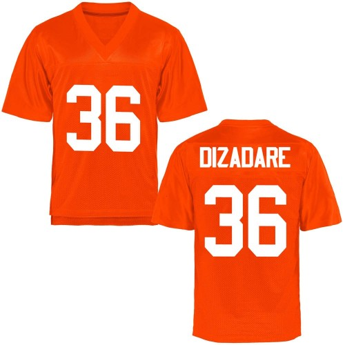 Youth Na'drian Dizadare Oklahoma State Cowboys Game Orange Football College Jersey