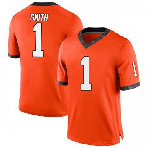 Youth Nike Kendall Smith Oklahoma State Cowboys Replica Orange Football College Jersey